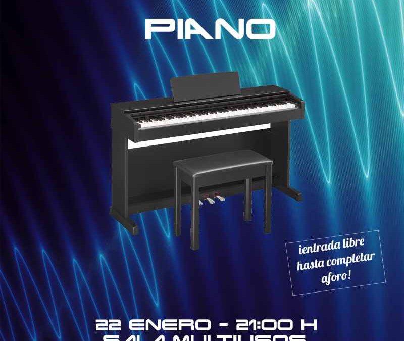 Concierto departamento de Piano en CDM Ponteareas