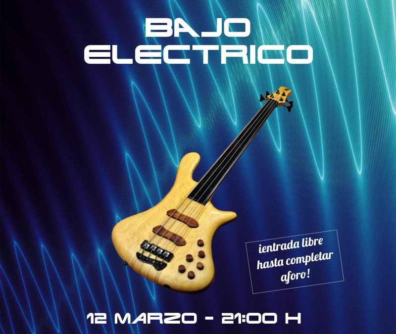Concierto Bajo Eléctrico en CDM Galicia